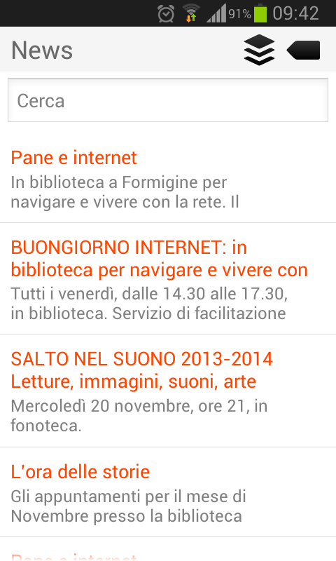 BiblioMo- screenshot