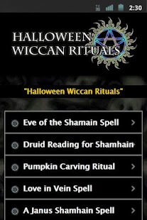 Wiccan Halloween Rituals - screenshot thumbnail