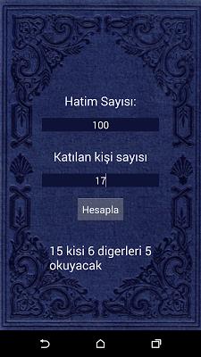 Hatimator - screenshot