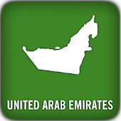 United Arab Emirates GPS Map