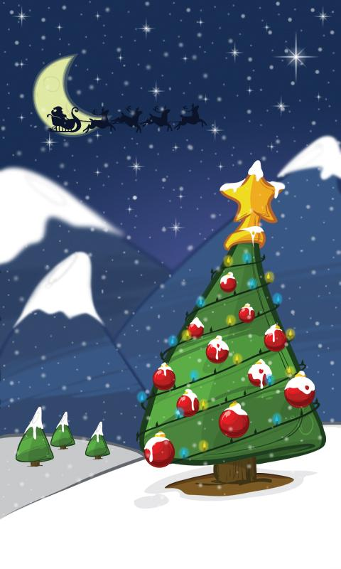 Christmas Magic Live Wallpaper - screenshot