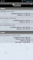 Screenshot of TruStar Federal Credit Union