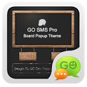 GO SMS Pro BlackBoard PopupThe icon