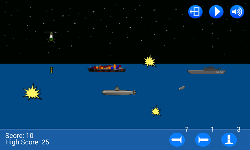 Sea Wars- screenshot
