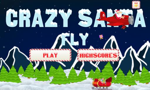 Crazy Santa Fly