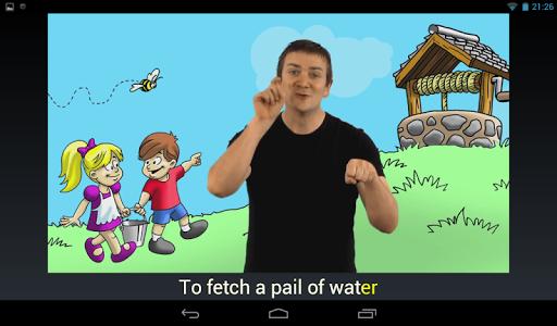 【免費媒體與影片App】Rhymes with Sign-APP點子