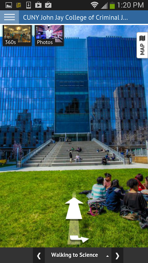 John Jay College- screenshot