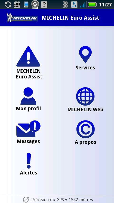 Michelin Euroassist- screenshot