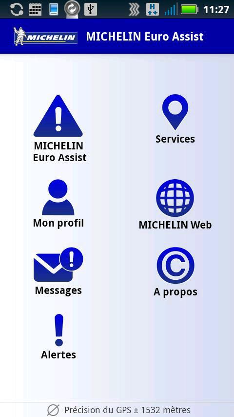 Michelin Euroassist - screenshot