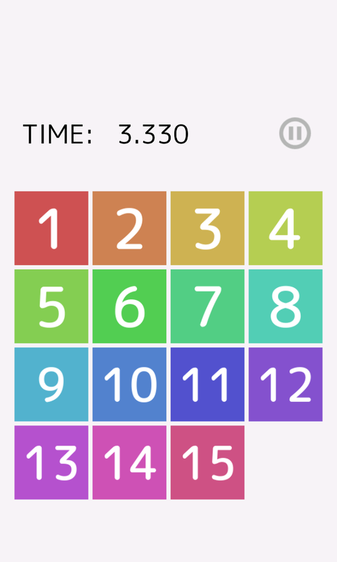 Speed Slide Puzzle- screenshot