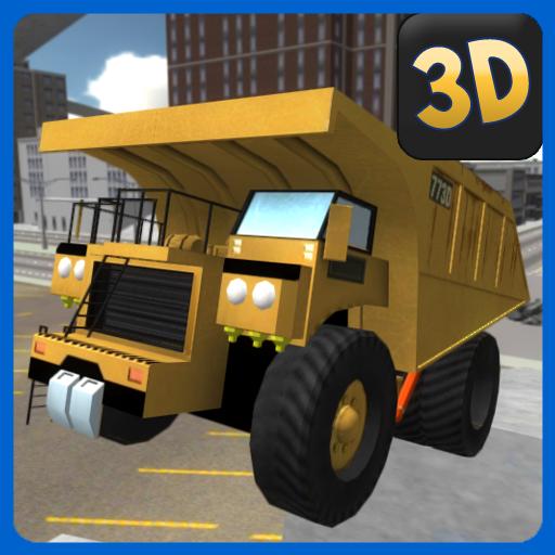 Extreme Dump Truck Simulator LOGO-APP點子