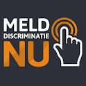 Meld discriminatie nu icon