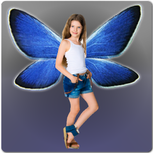 HD Selfie Photo Fly with Wings