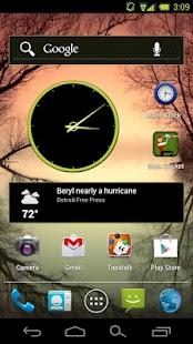 CM10 / AOKP : Holo Green Light- screenshot thumbnail
