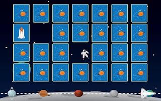 Screenshot of Space Memory Game for Kids