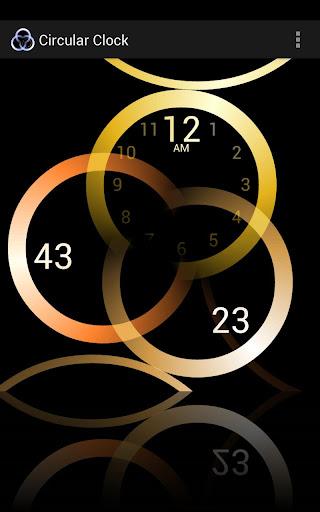Circular Clock Live Wallpaper