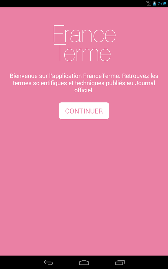 FranceTerme- screenshot