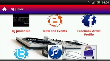 Screenshot of DJ junior