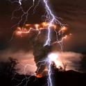 Tornado Lightning Storm LWP icon