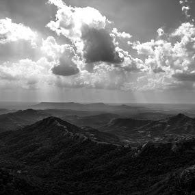 Heaven Shine by Rohan Pavgi - Landscapes Mountains & Hills ( konkan, sahyadri, india, maharashtra, western ghats, landscapes )
