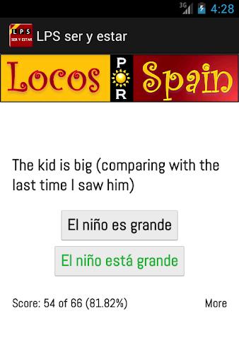 Practice Spanish- ser y estar