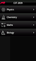 Screenshot of CET 2009 Solved Exam Paper