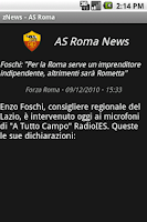 Screenshot of zNews - ASRoma