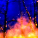 Raging fire FULL livewallpaper