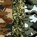 Camouflage Atom theme icon