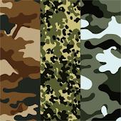 Camouflage Atom theme