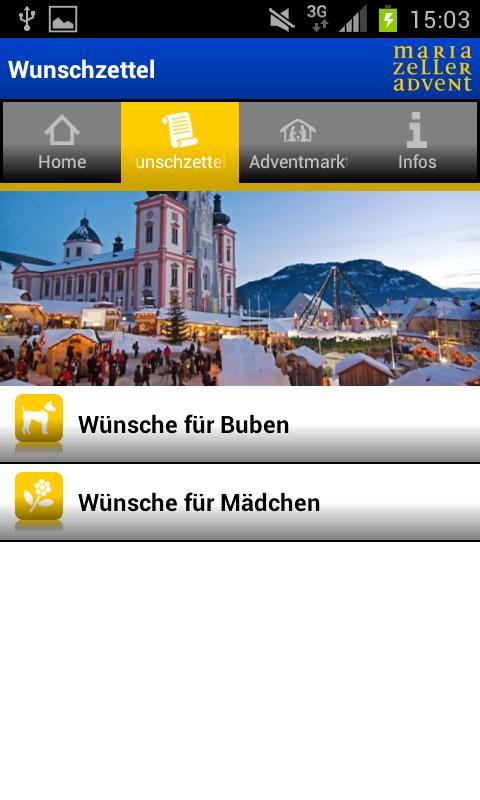 Wunschzettel- screenshot