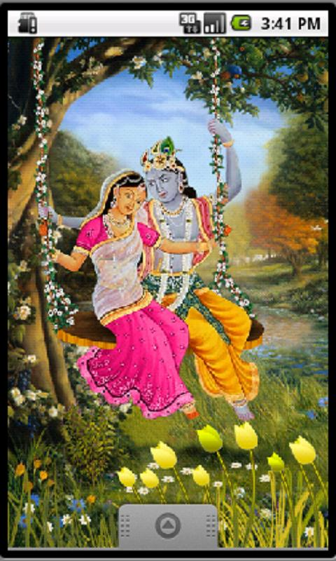 Divine Love Radha Krishna Free - screenshot