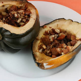 Candied Acorn Squash Slow Cooker.