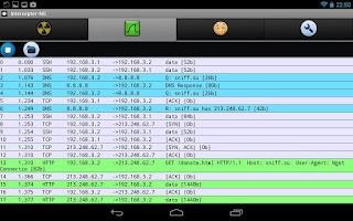 Screenshot of Intercepter-NG (ROOT)