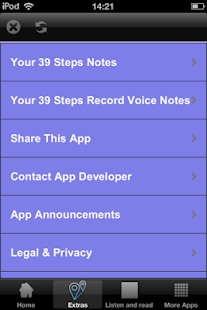 App 39 Steps - Audio and Text Book APK for Windows Phone