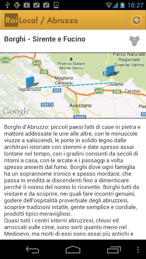 Abruzzo Rai Local - screenshot