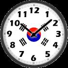 South Korea Clock icon
