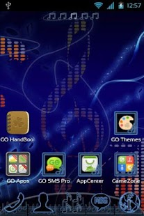 GO Launcher EX Music Theme - screenshot thumbnail