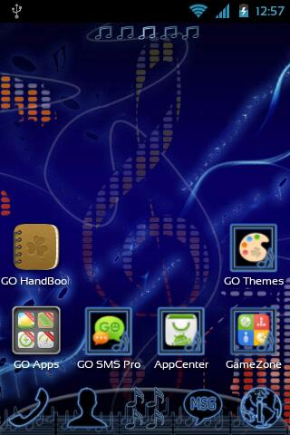 GO Launcher EX Music Theme- screenshot