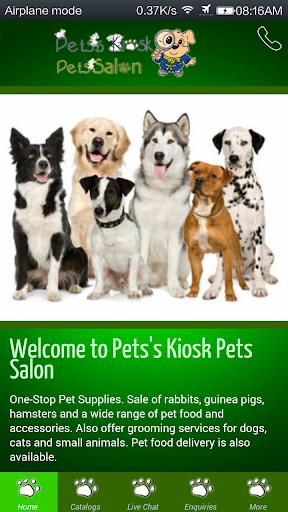 Pets's Kiosk Pets Salon PKPS