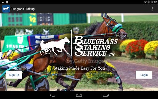 Bluegrass Staking