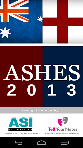Ashes Updates 2013