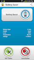Screenshot of Battery Saver