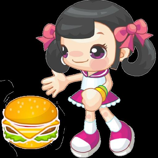 可愛漢堡餓了客戶 休閒 App LOGO-APP試玩