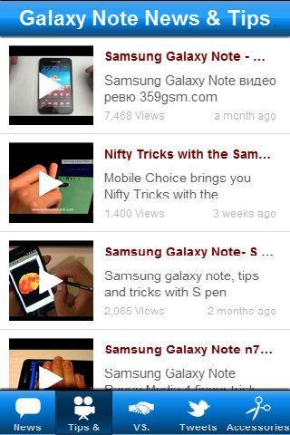 Galaxy Note News & Tips- screenshot