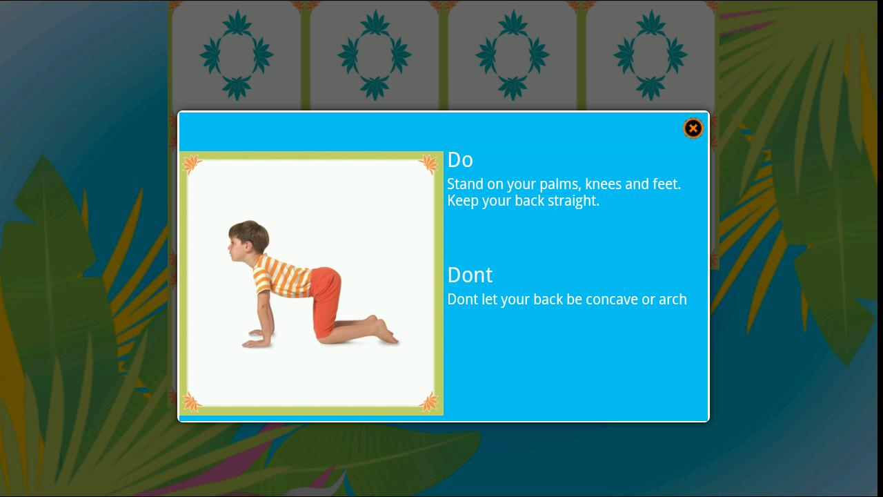 Yoga 4 kids Lite - screenshot