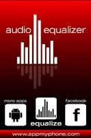 Screenshot of Audio Equalizer