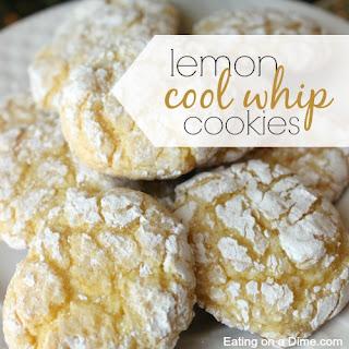 Lemon Cool Whip Cookies.