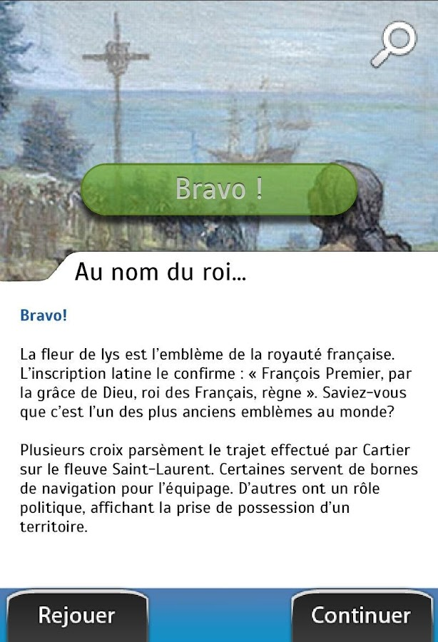 Explora Cartier-Brébeuf FR- screenshot