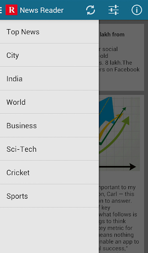 News Reader - India + Mashable